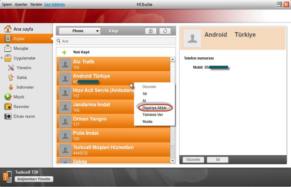Hisuite Ile Android Cihazlarda Rehber Yedekleme Ve Geri