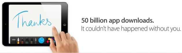 app-store-50-milyar-uygulama